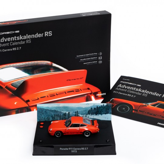 Porsche 911 Carrera RS Advent Calendar