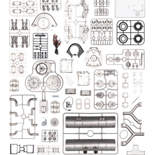 Porsche Carrera Model Engine Kit