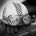 Motorgraphics - Ace Cafe Helmet Framed Print