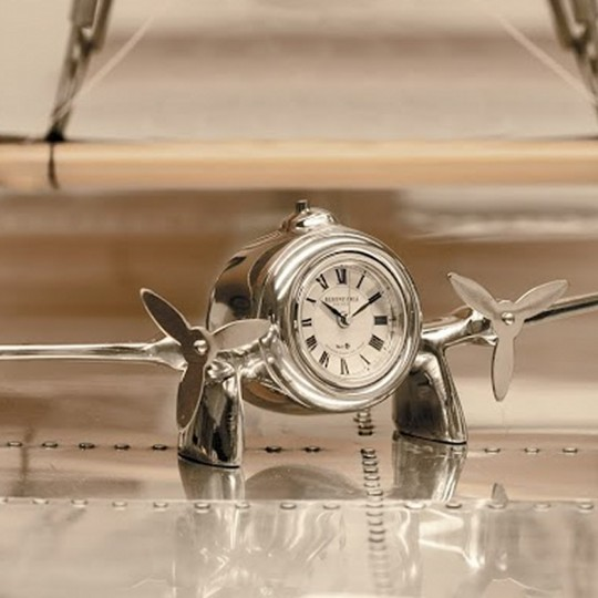 Art Deco Flight Desk Clock