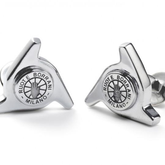 Genuine Borrani 3 Ear Spinner Cufflinks