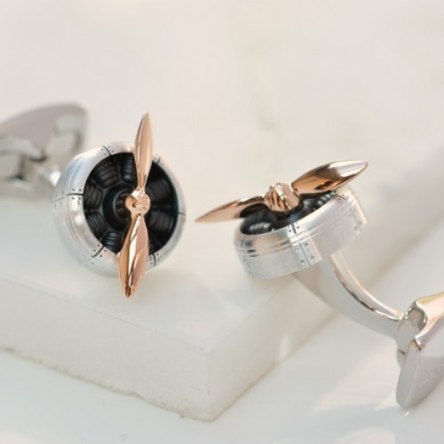 Sopwith Propeller Cufflinks