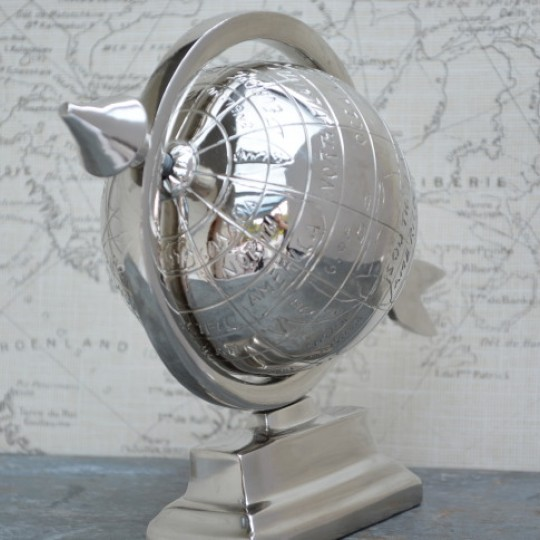 Aluminium Desk Top Globe