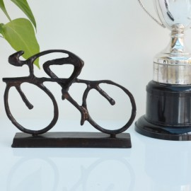 Cyclist Sculpture Small