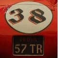 Motorgraphics - Ferrari Framed Print