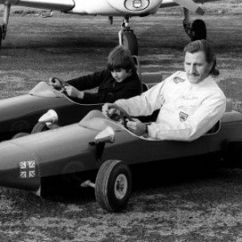 Graham and Damon Hill