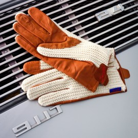 Suixtil Grand Prix Brown Driving Gloves