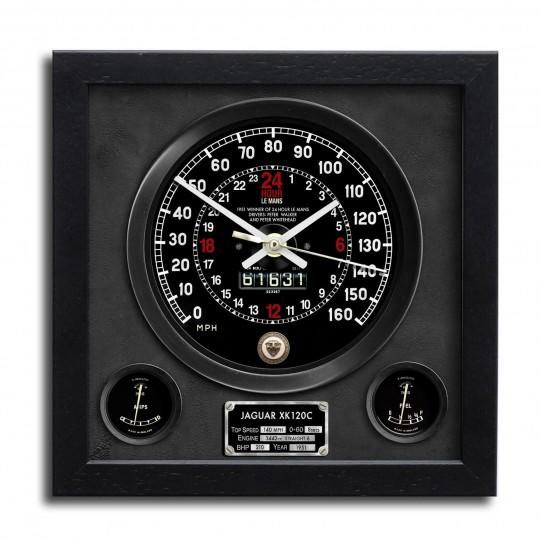 Speedo Wall Clock - Jaguar XK120C Le Mans