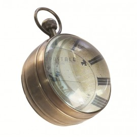 Library Eye of Time Clock