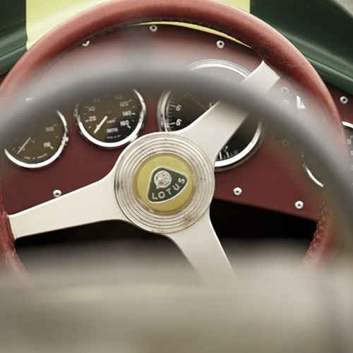 Motorgraphics - Lotus Cockpit Framed Print
