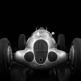 Motorgraphics - Mercedes Framed Print