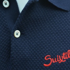 Suixtil Nassau Polo Shirt Navy Blue