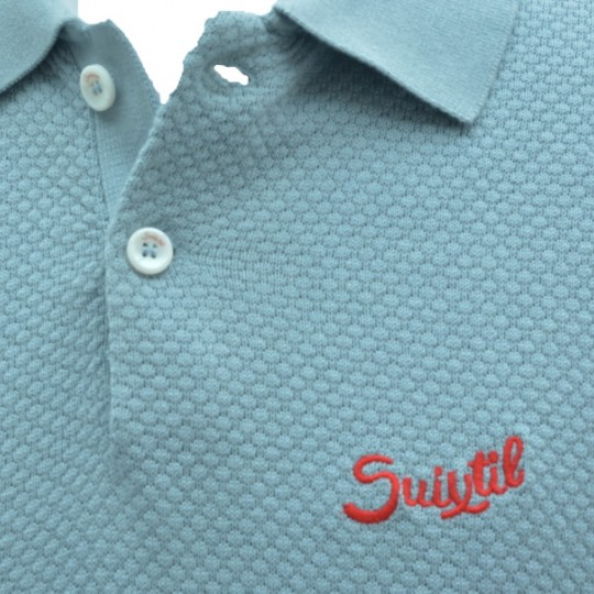Suixtil Nassau Polo Shirt Light Blue
