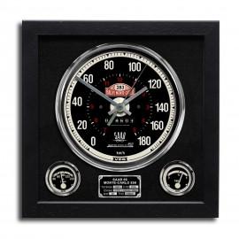 Speedo Wall Clock - Saab 96 Monte Carlo