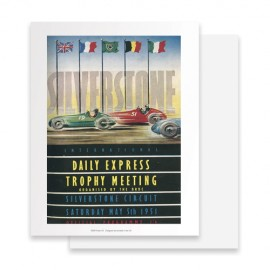 Silverstone Daily Express Trophy 1951 Print