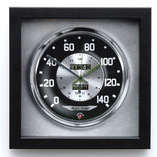 Speedo Wall Clock - Austin Healey