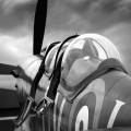 Motorgraphics - Spitfire Detail Framed Print