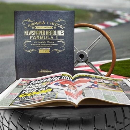 Personalised Formula 1 History Book