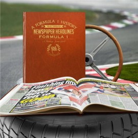 Personalised Formula 1 History Book