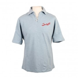Suixtil Rio Polo Shirt Light Blue