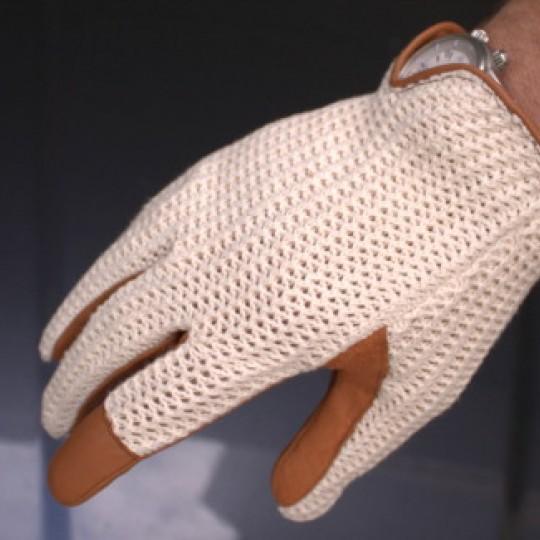 Suixtil Grand Prix Brown Driving Gloves