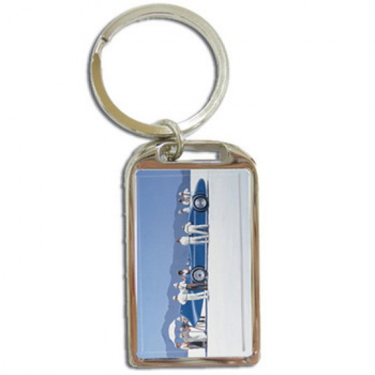 Bluebird at Bonneville Keyring