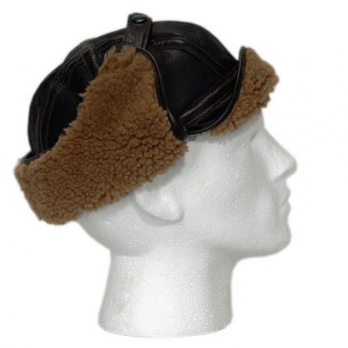 Bomber Sheepskin Flying Helmet