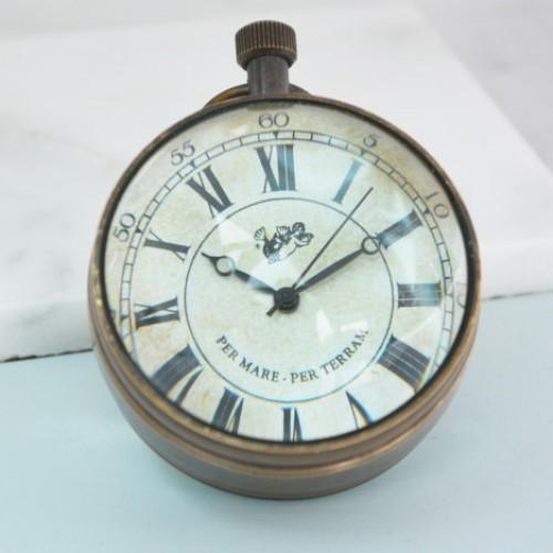 Eye of the Time Desk Clock
