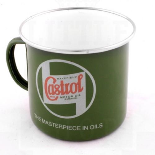 Castrol Enamel Mug