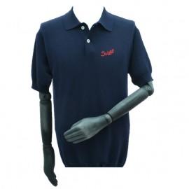 Suixtil Nassau Polo Shirt Navy Blue