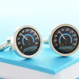 Personalised Sport Car Speedometer Cufflinks