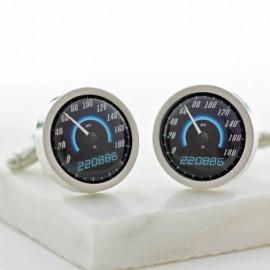 Personalised Sport Car Speedometer Cufflinks
