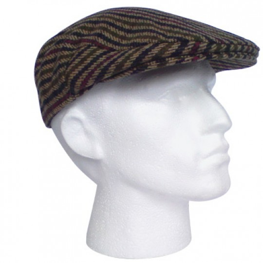Driving Cap - Surrey Tweed