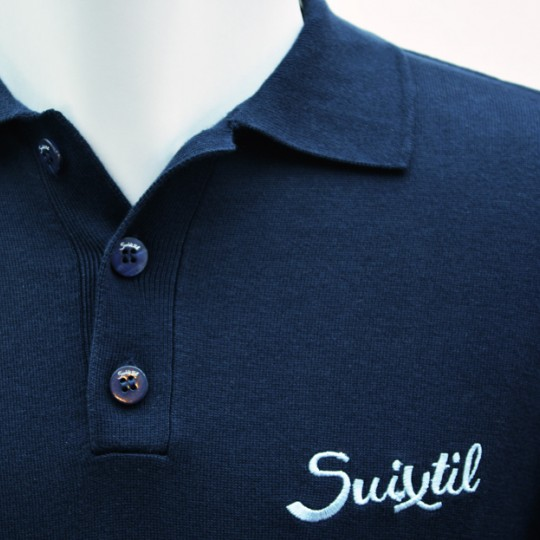 Suixtil Targa Pima Sweater Navy Blue