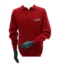 Suixtil Targa Pima Sweater Ferrari Red