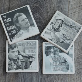 Racing Driver Set of 4 coasters