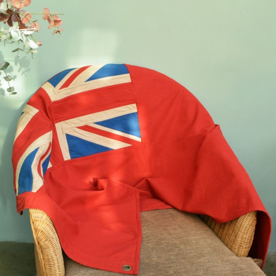 Red Ensign Naval Flag / Throw