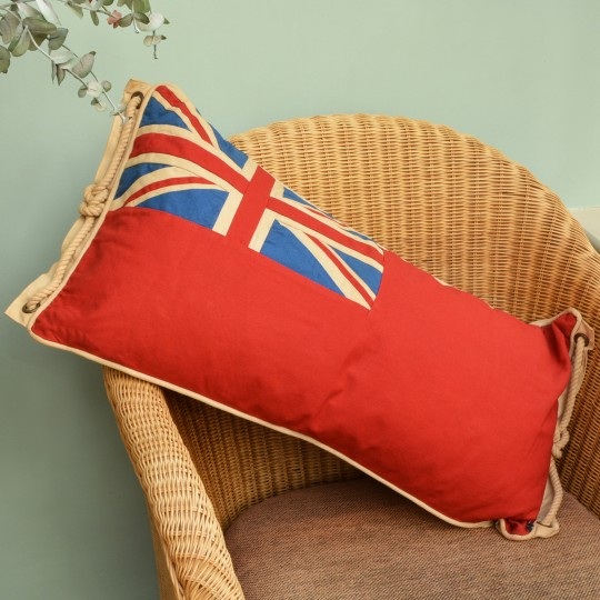 Large Red Ensign Cushion