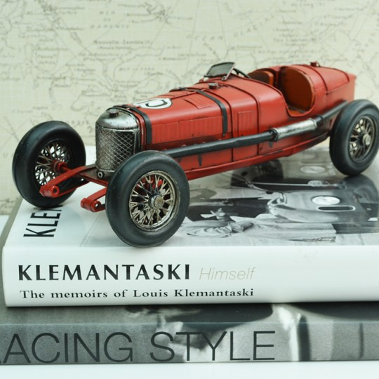 Tinplate Red Racing Car