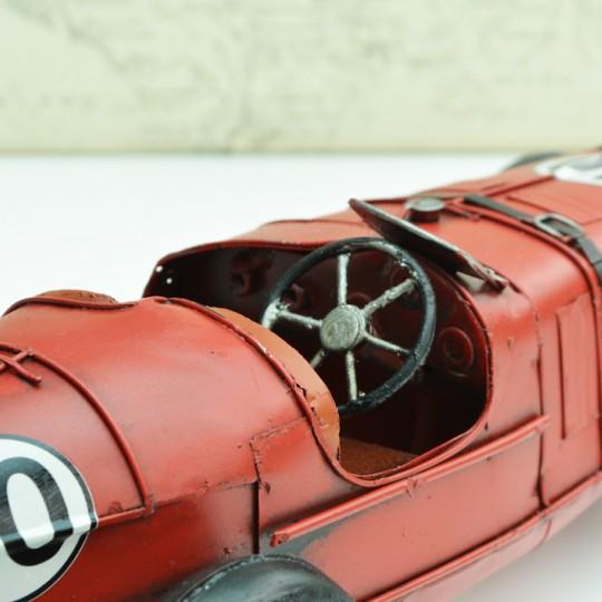 Tinplate Red Racing Car