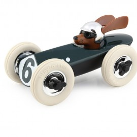 Rufus the Dog Racing Car Green