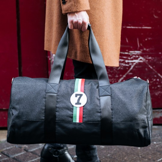 Racing Number Weekend Bag Black No7