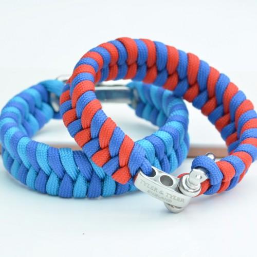 Shackle Zig Zag Wristband