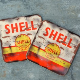 Shell Oil Coaster