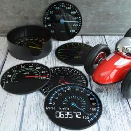 Speedometer Coasters