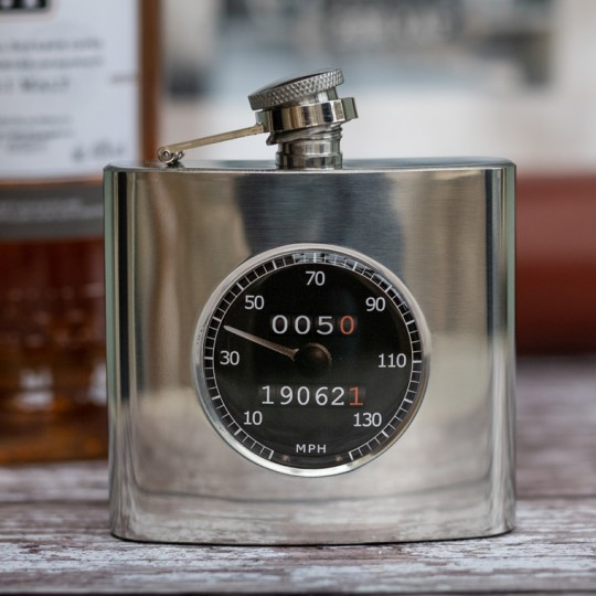 Personalised Black Speedo Hip Flask