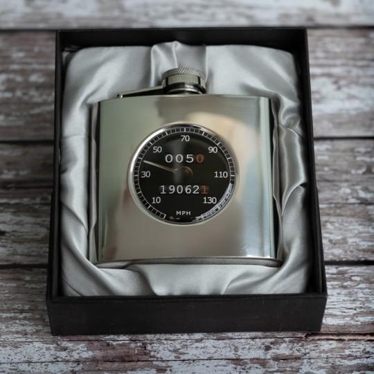 Personalised Black Speedo Hip Flask