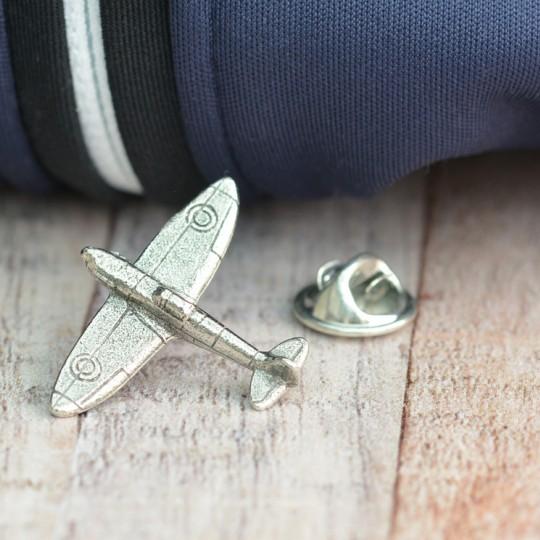 Pewter Spitfire Lapel Pin badge