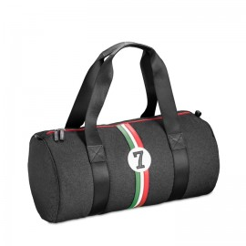 Racing Number Small Holdall Grey No7