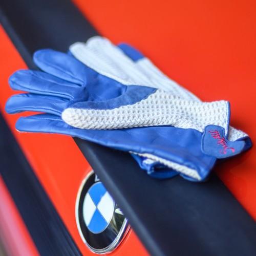 Suixtil Grand Prix Blue Driving Gloves